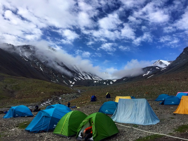 Stok Kangri, Base Camp 16,500 ft, Ladakh